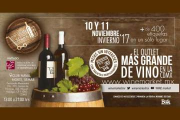 Wine market outlet Invierno 2017
