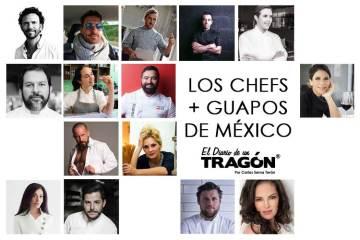 chefs más guapos de México