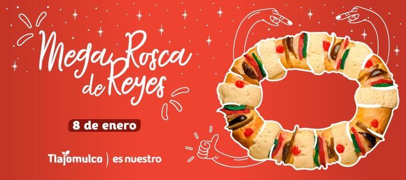 Mega Rosca de Reyes en Tlajomulco