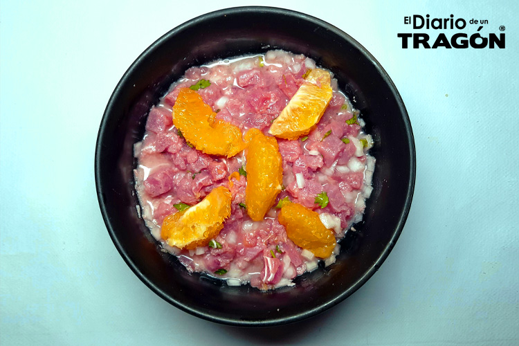 Ceviche a la Naranja