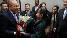 Danilo Medina llega a Beijing para iniciar primera visita de Estado tras establecimiento relaciones diplomáticas