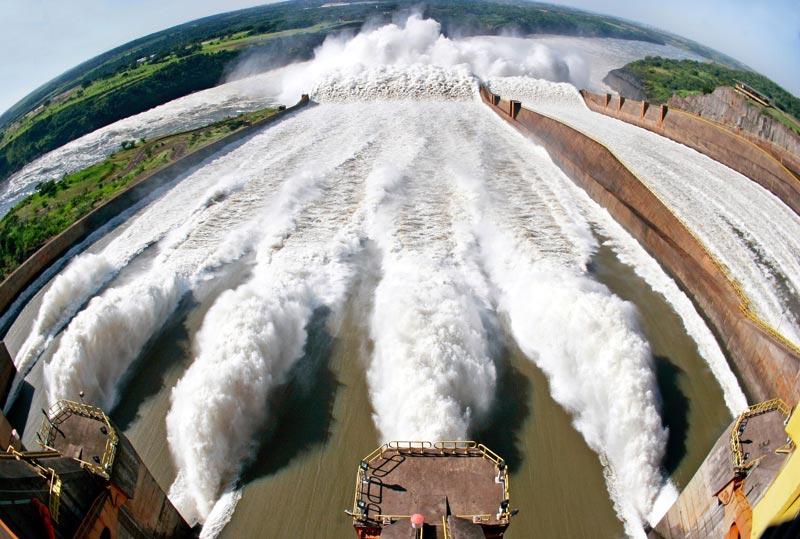 hidroeléctrica brasileña.