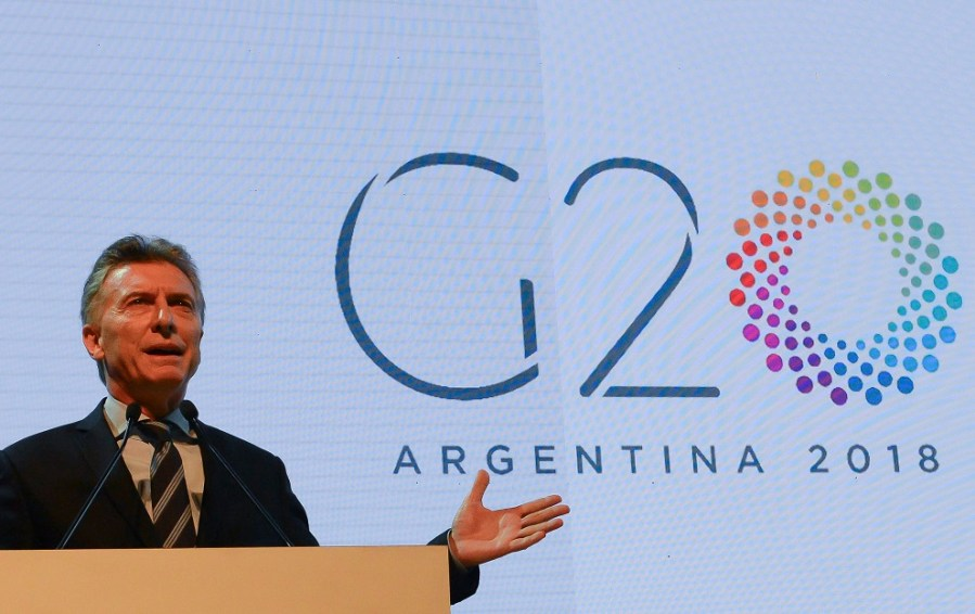 macri en reunion g20 en ba marzo 2018