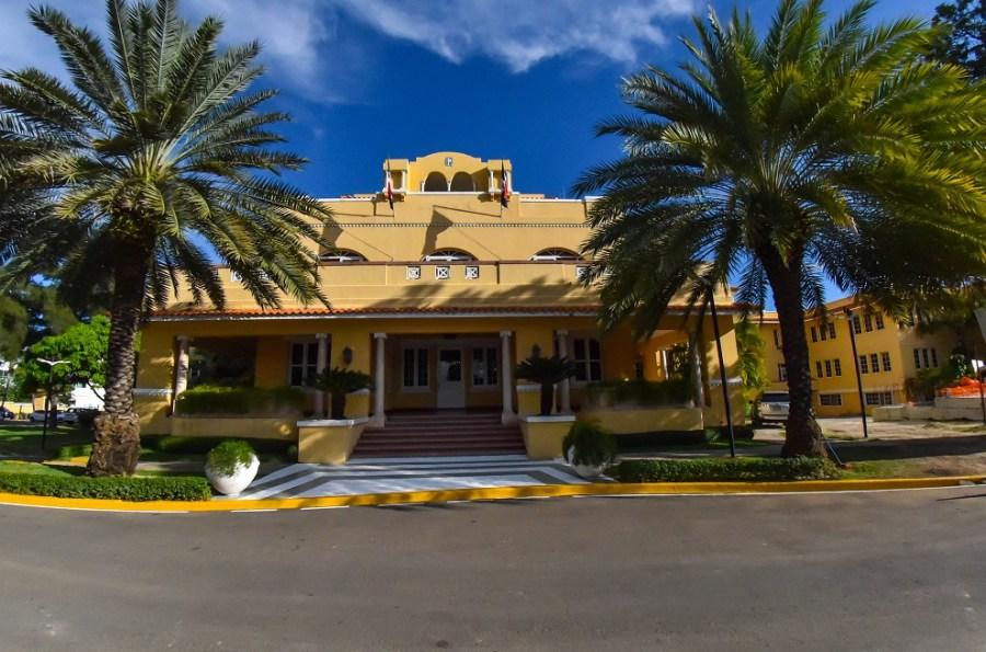 sede de la cancillería dominicana