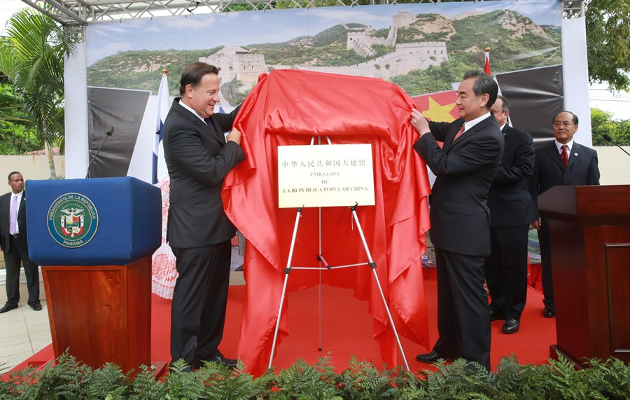 panama embajada china