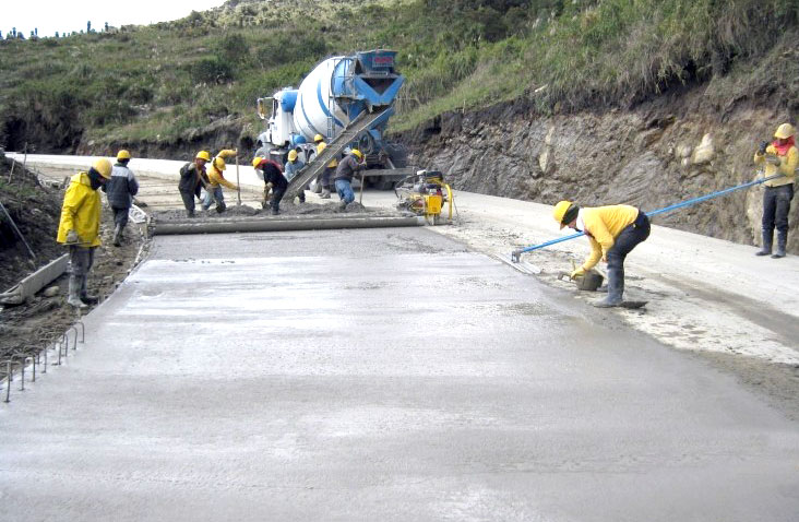 Pavimento Que Es : El pavimento de concreto es alternativa para obras viales