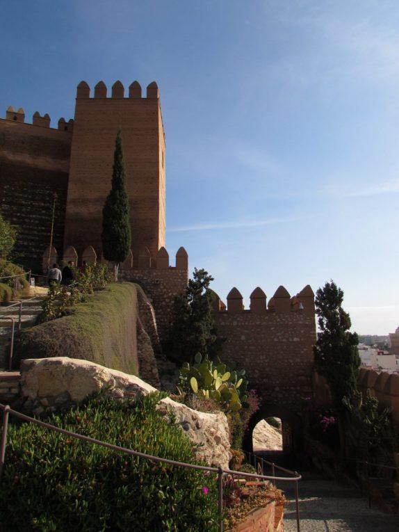 entrada alcazaba de almeria