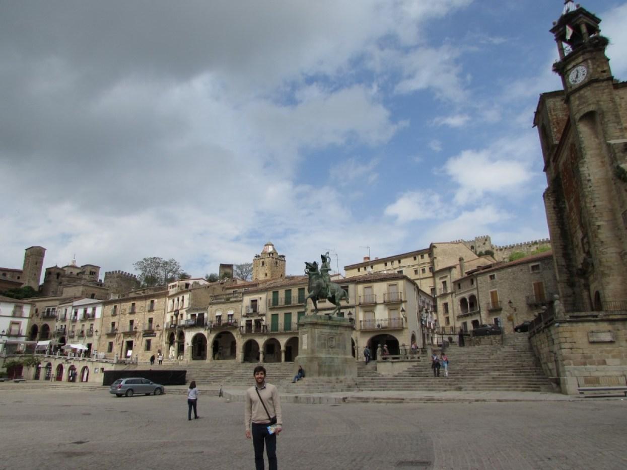 Trujillo, una de las ciudades más bonitas de España.