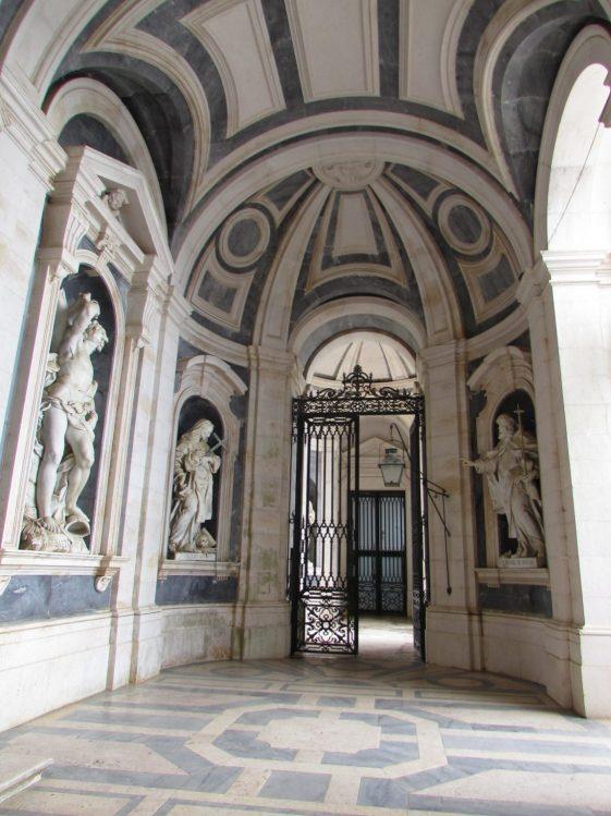 Iglesia del Palacio Nacional de Mafra