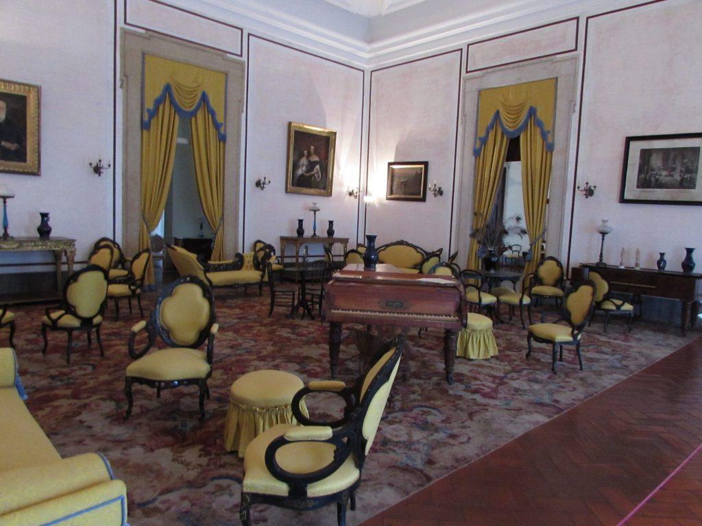 Salón de la Música, Palacio Nacional de Mafra