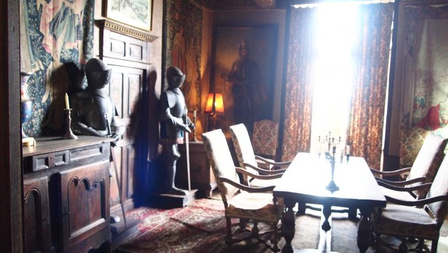 Interior del castillo de Beynac et Cazenac