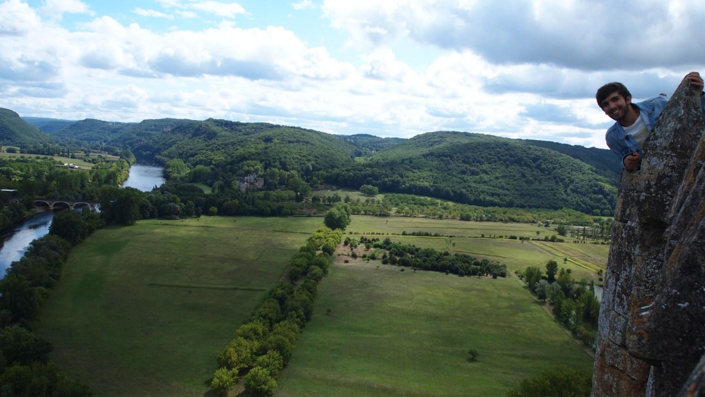 Vistas desde el castillo de Beynac et Cazenac