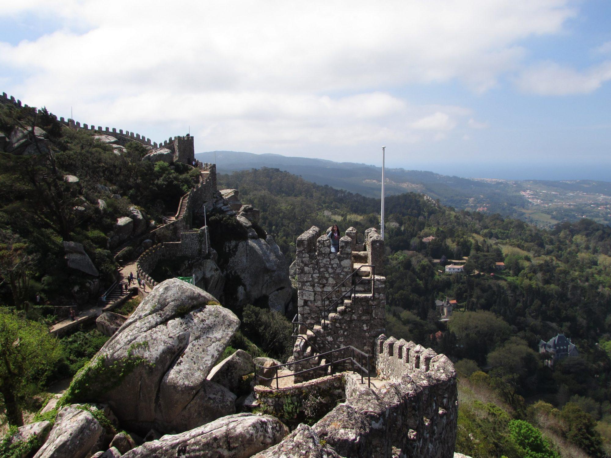 murallas castelo dos mouros