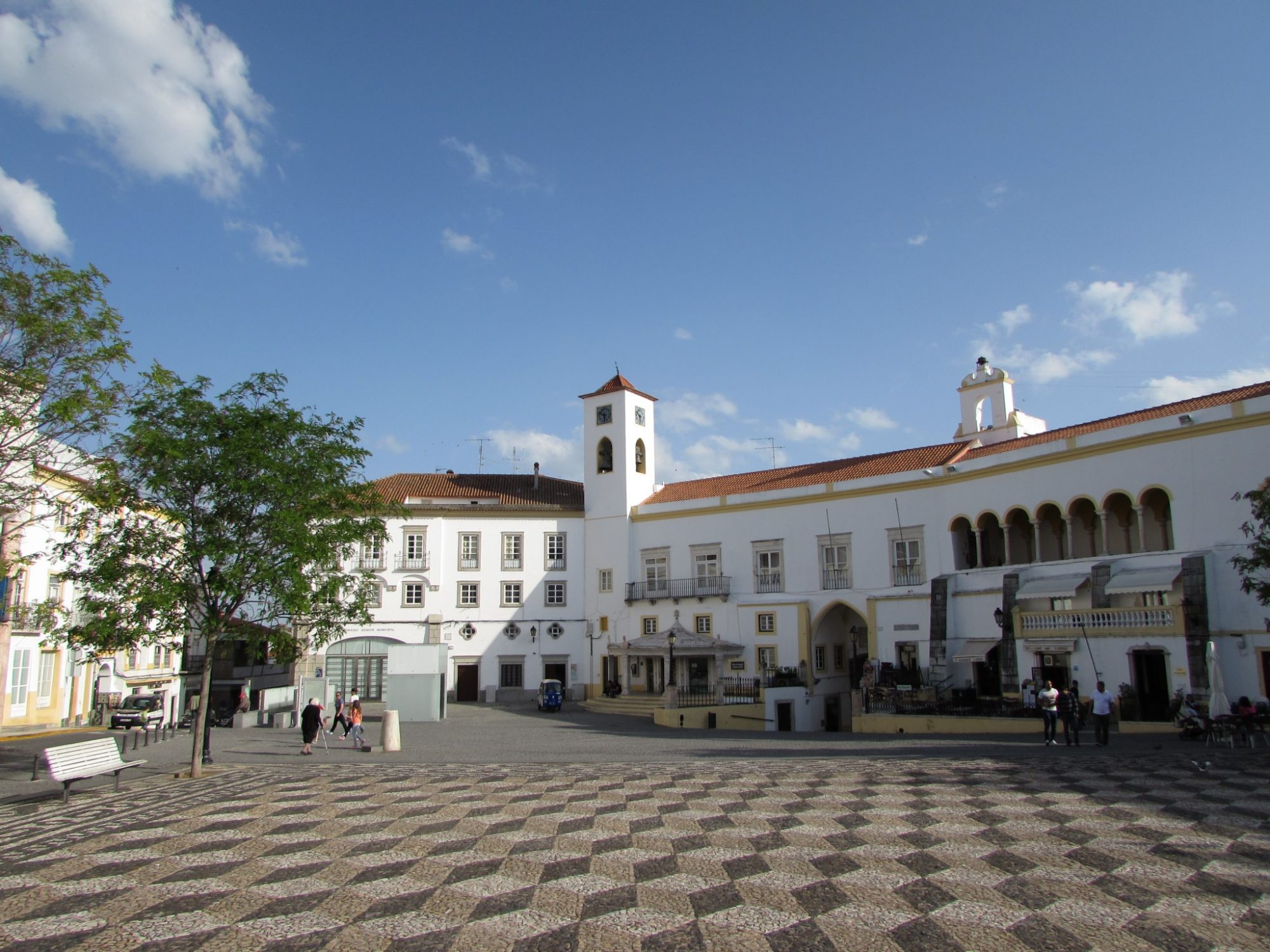 Plaza de la Republica, Elvas
