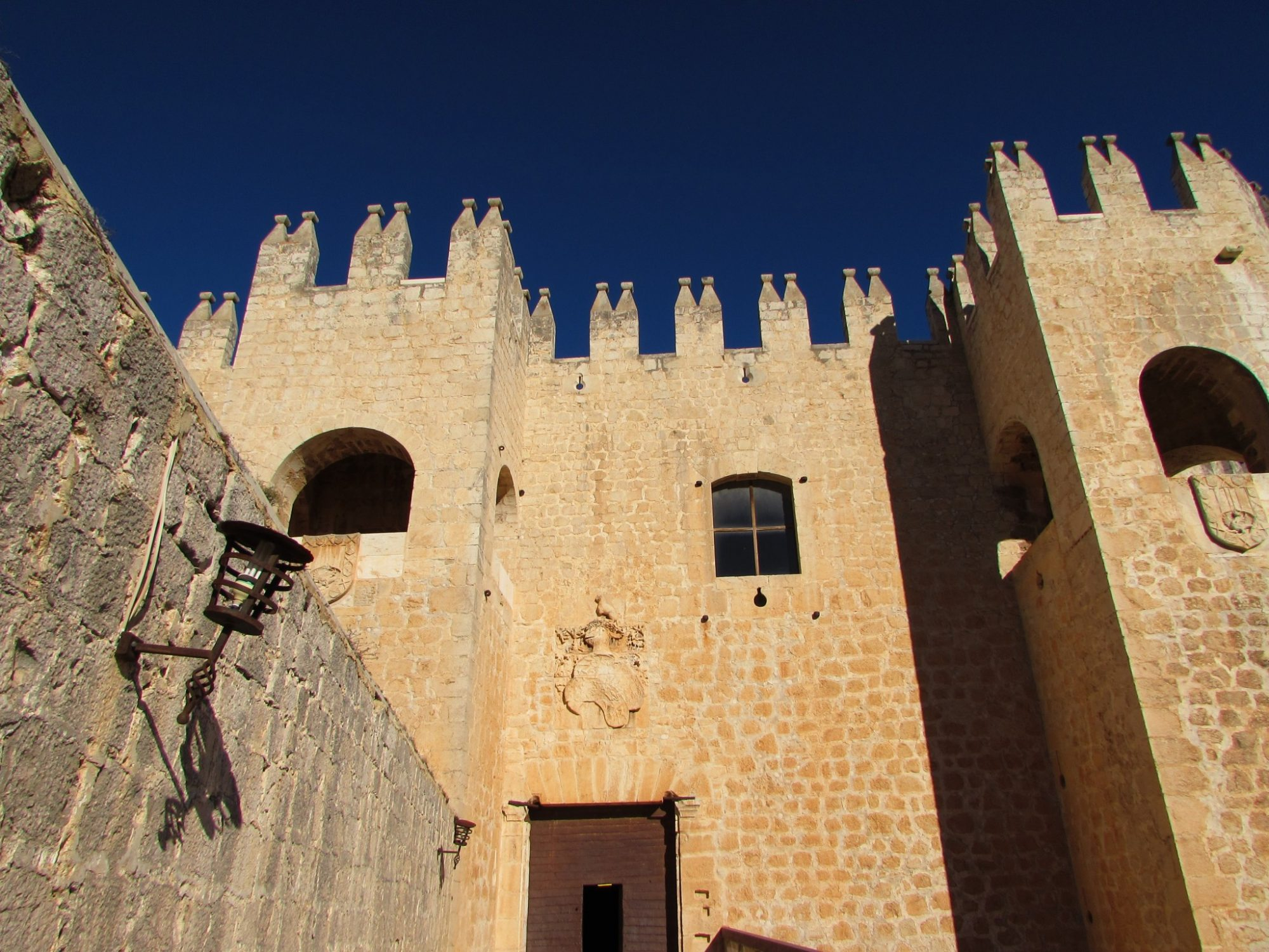 entrada castillo de Vélez-Blanco