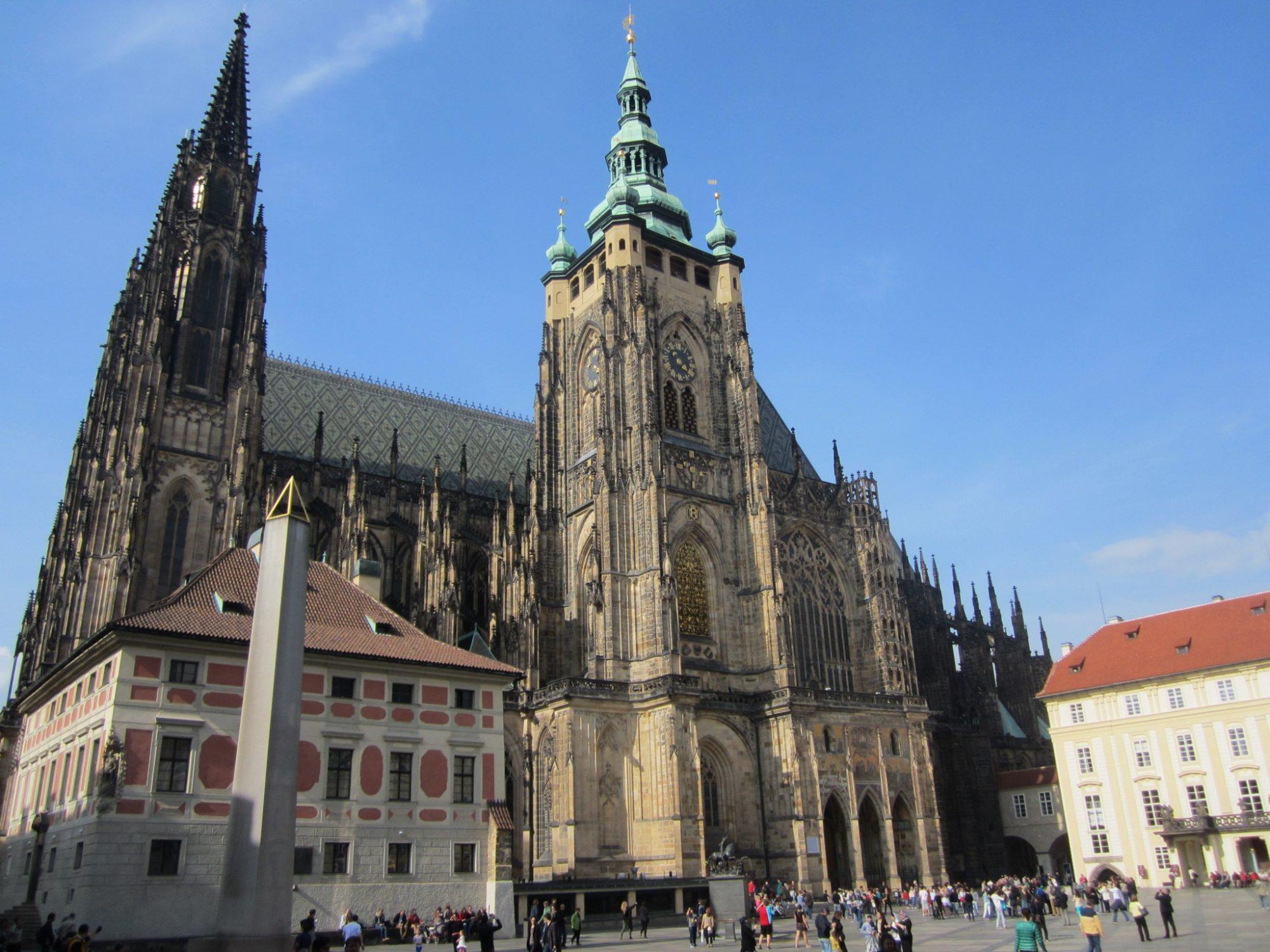 Catedral de San Vito una de las visitas imprescindibles en Praga