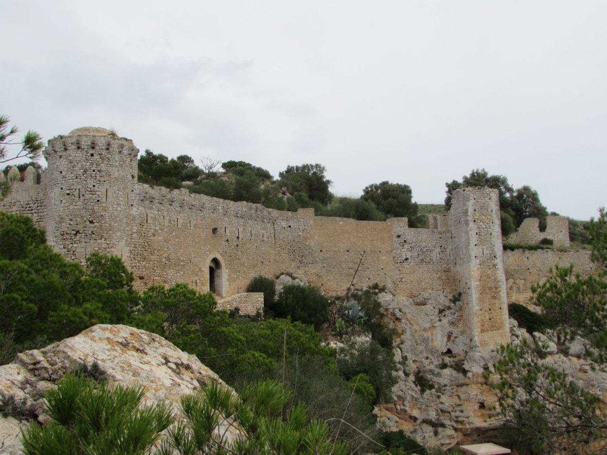 Castillo de Santueri Santanyi. Castillos bonitos de Mallorca