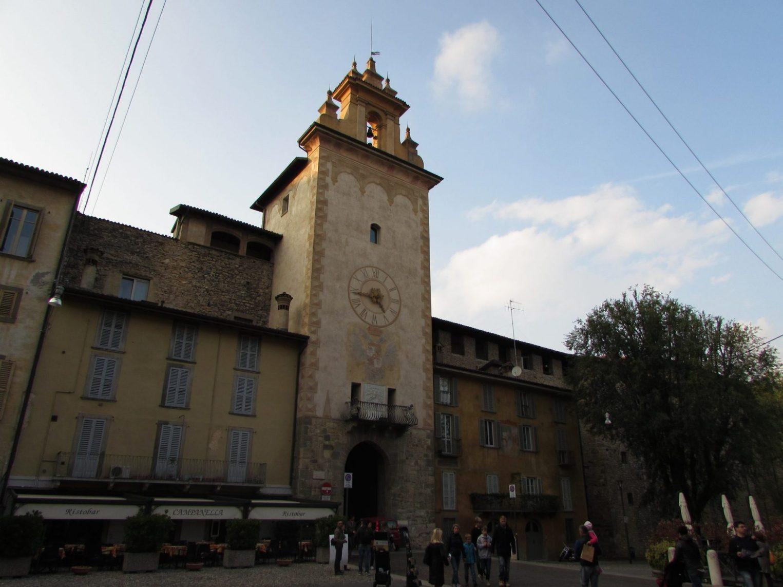 Plaza de la Cittadella, Bérgamo