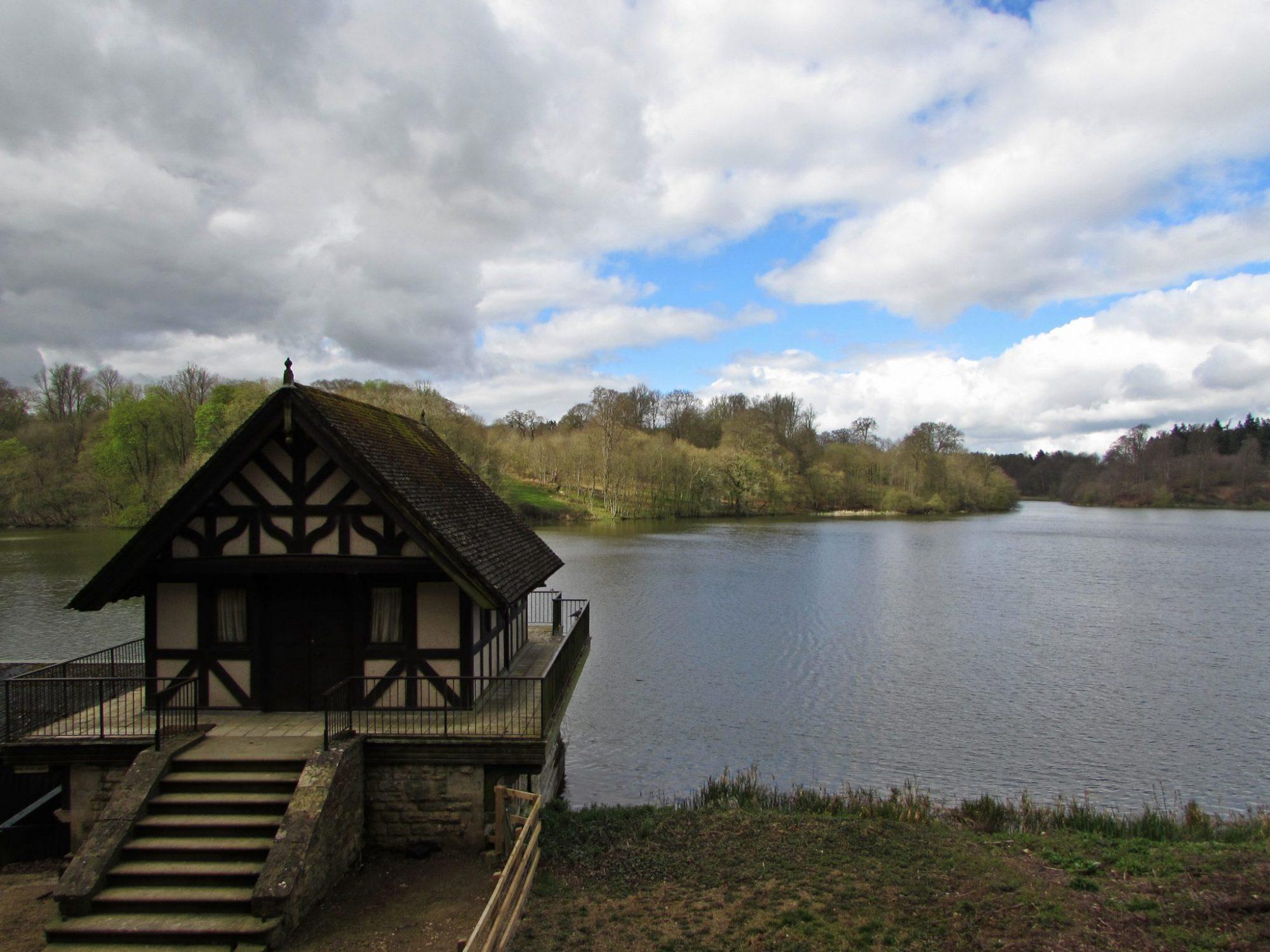 El Gran Lago en el Palacio de Blenheim