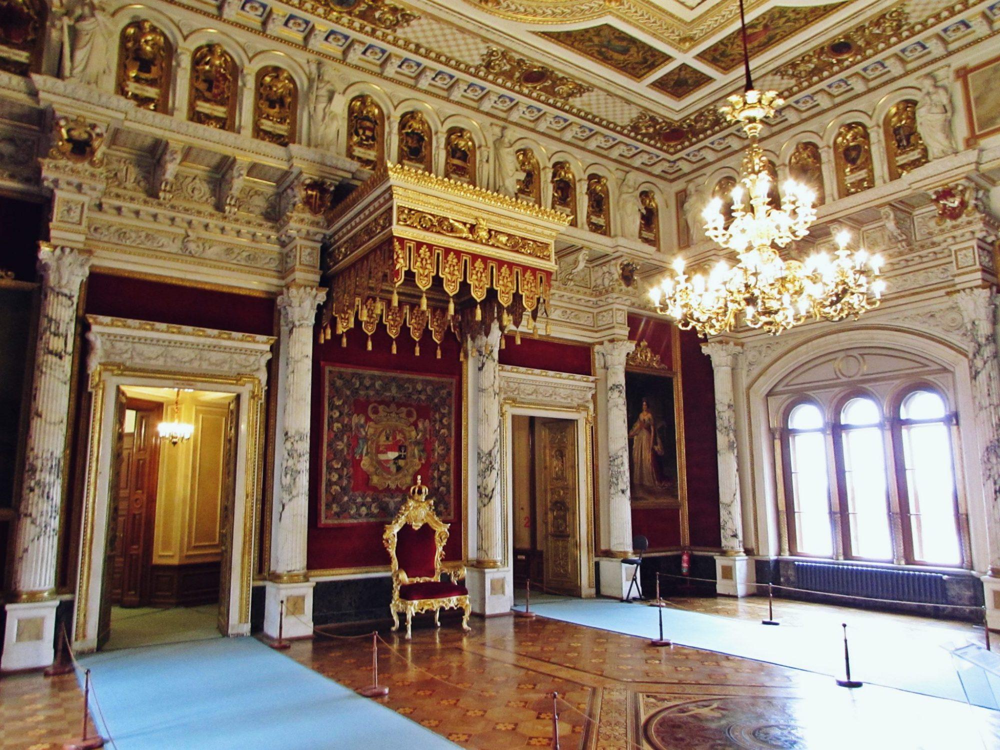 Salón del Trono - Palacio de Schwerin