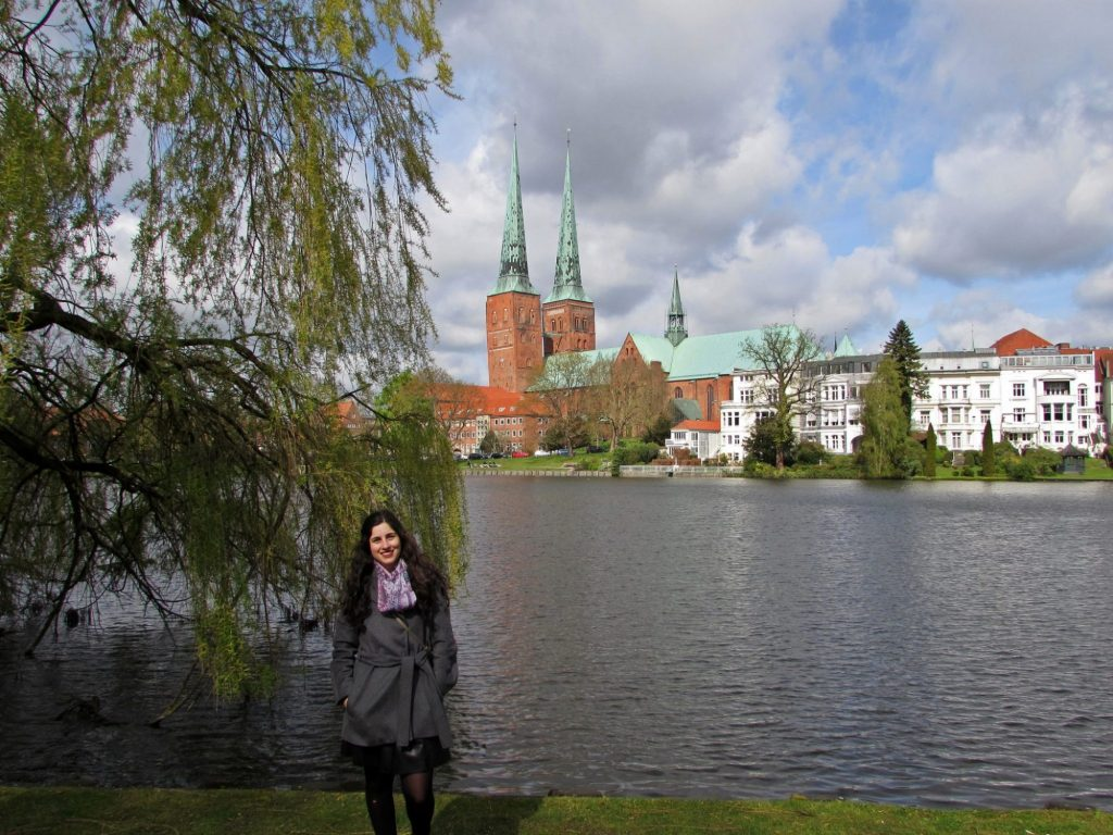 catedral Lübeck canal