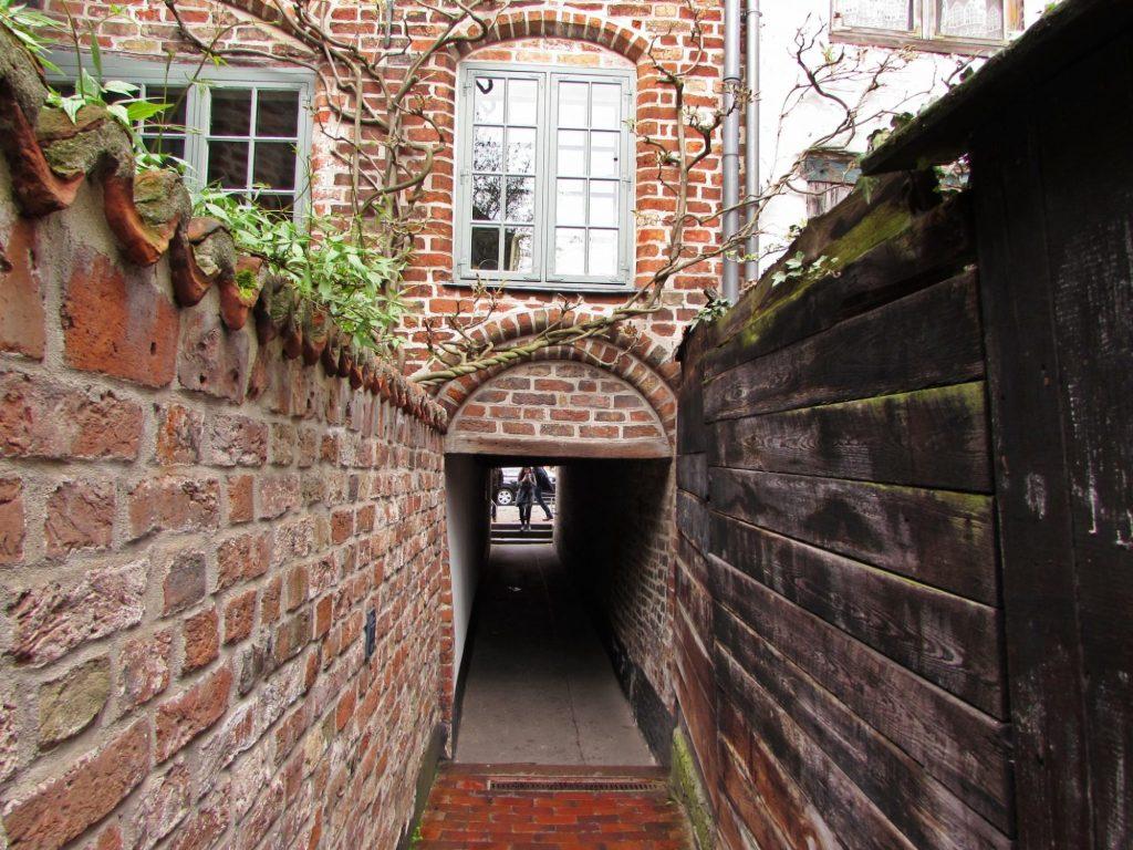 Pasaje oculto en Lübeck