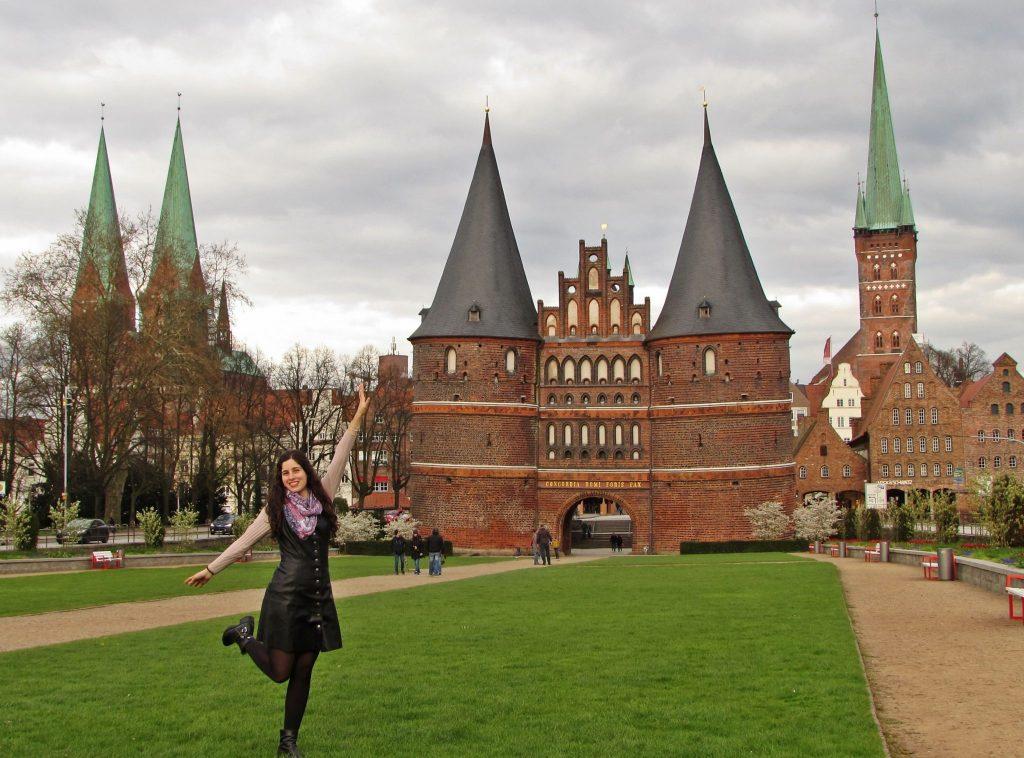 Lübeck holstentor puerta