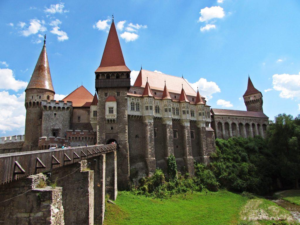 panorámica castillo de hunyad