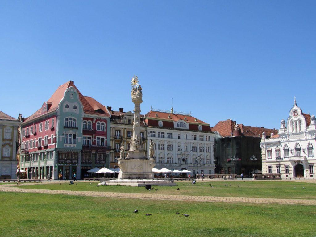 Plaza Unirii, una de las visitas imprescindibles en Timisoara
