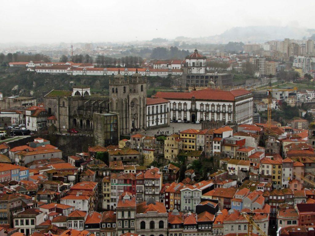 Miradores de Oporto. Torre de los Clerigos