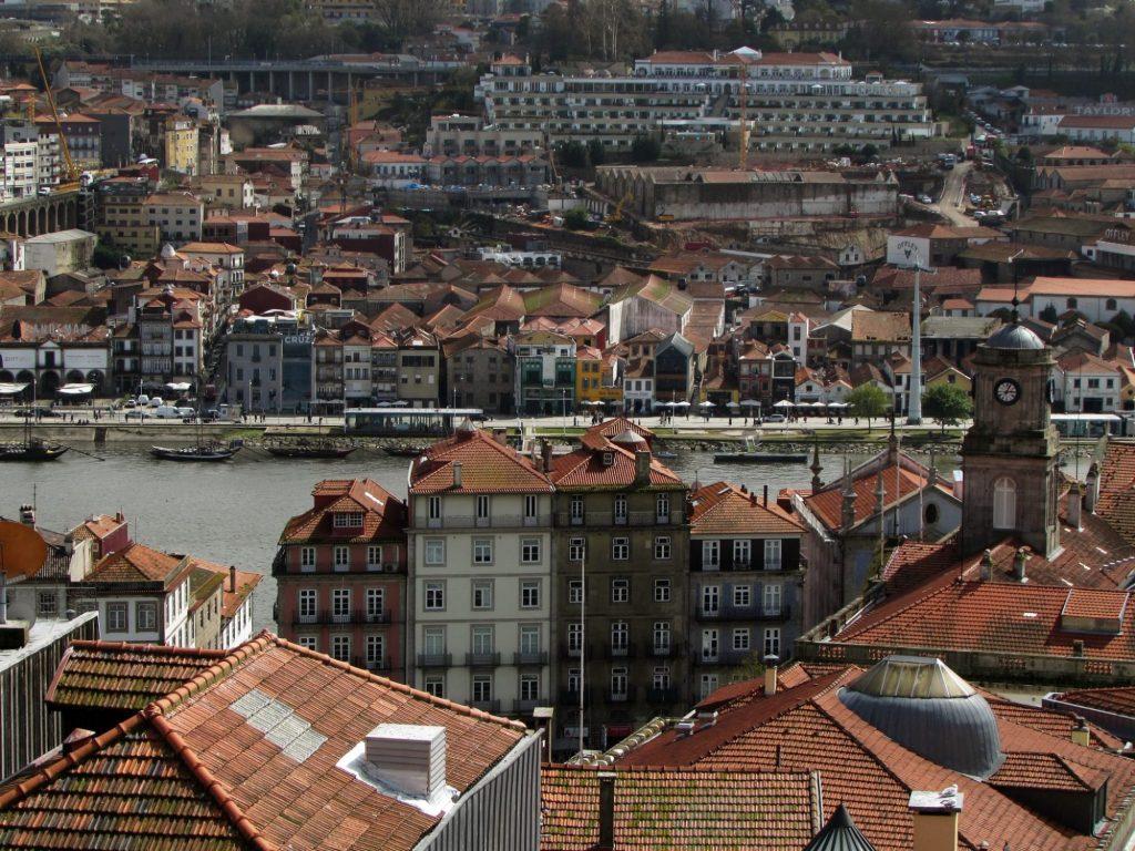 Miradores de Oporto. Mirador da Victoria