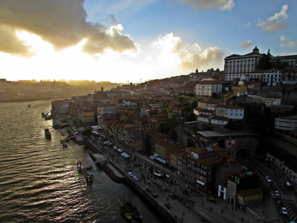 Miradores de Oporto. Puente de Don Luis I