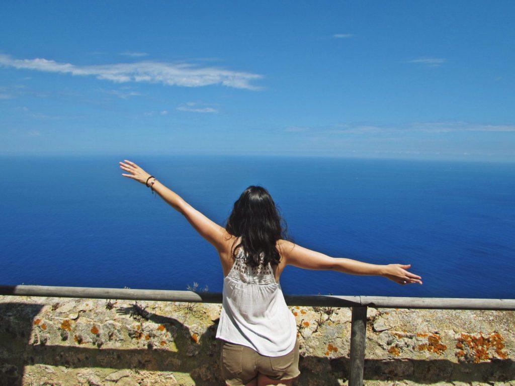 Vistas desde el Faro de Na Popia, Sa Dragonera