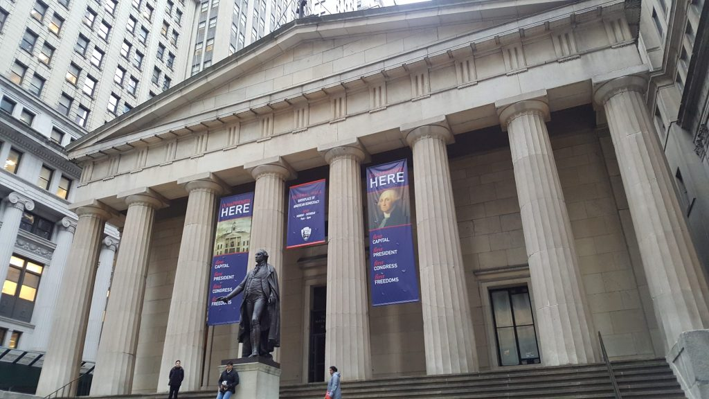 federal hall lower manhattan