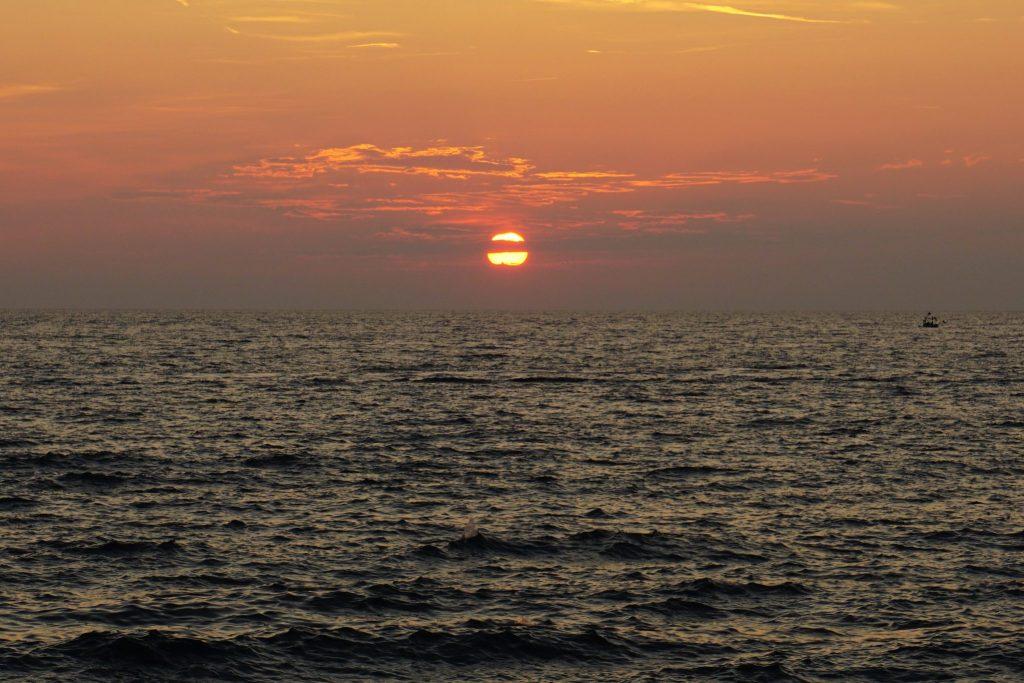 Atardecer en el mar Adrático - Piran
