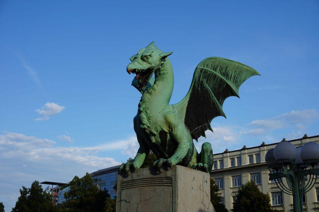 Puente de los Dragones, Liubliana