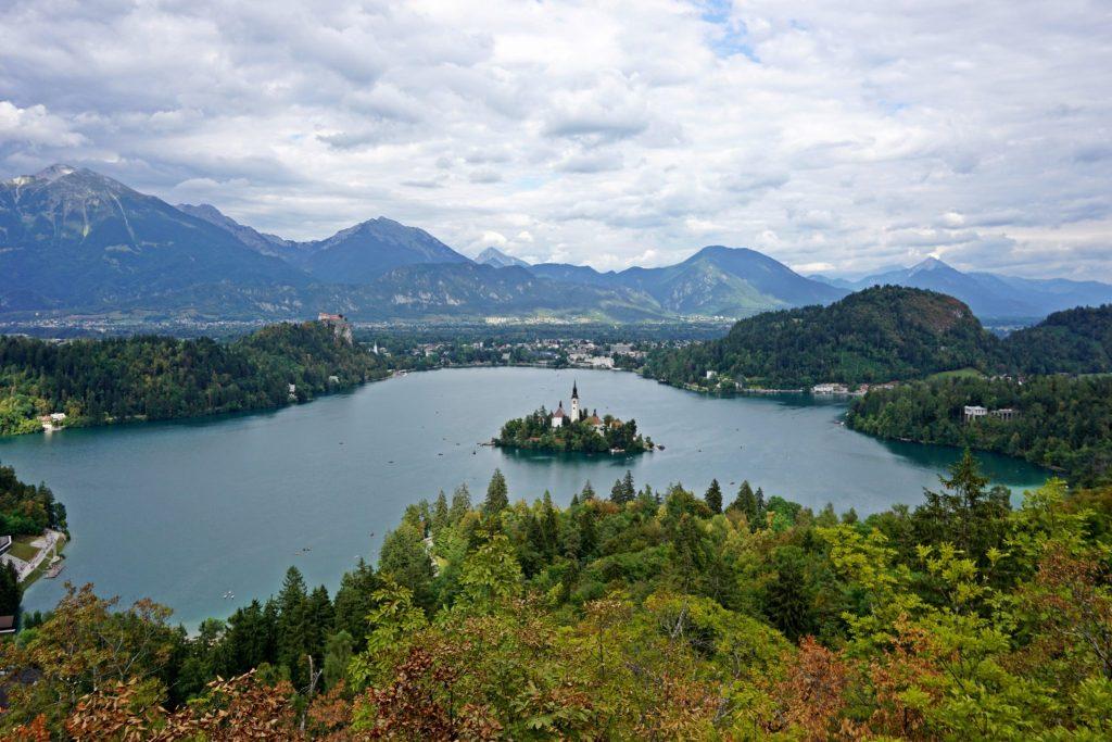 Mirador de Ojstrica - Lago Bled