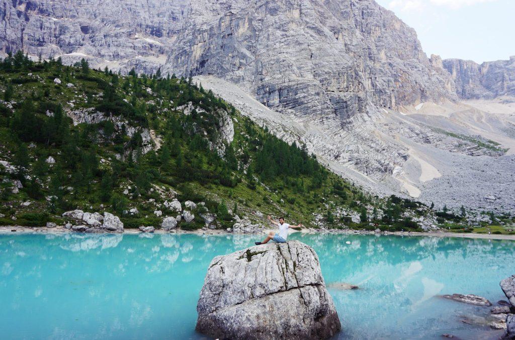 Lago di Sorapiss. Visitas imprescindibles en los Dolomitas
