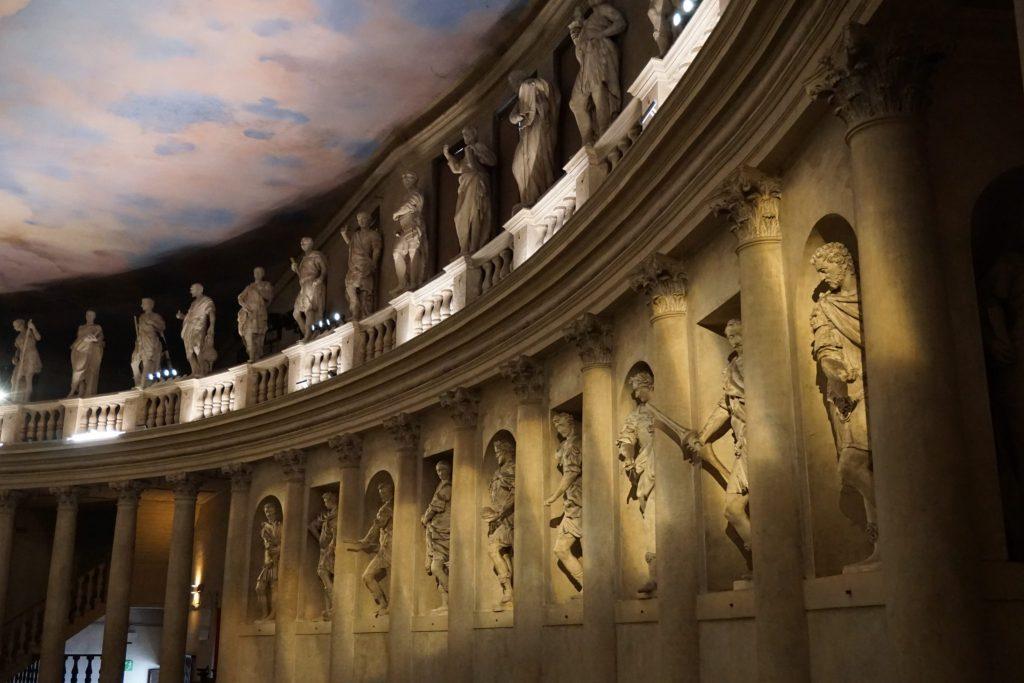 El Teatro Olímpico es una visita obligada en Vicenza