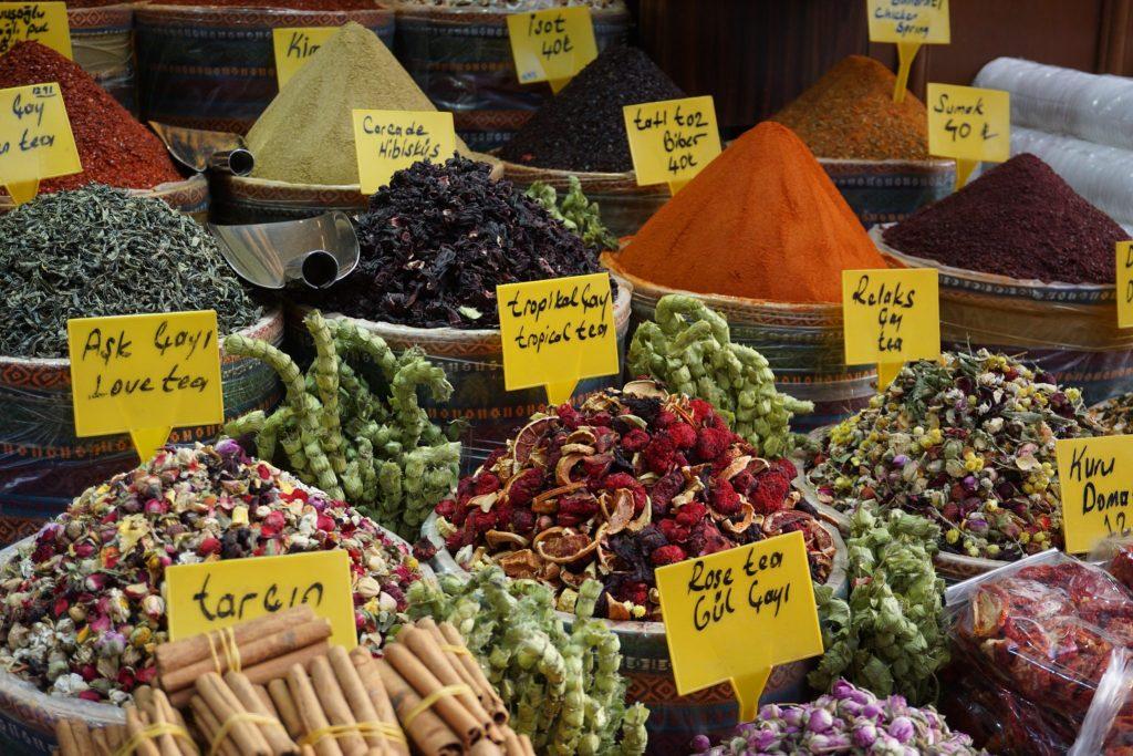 Especias en Estambul