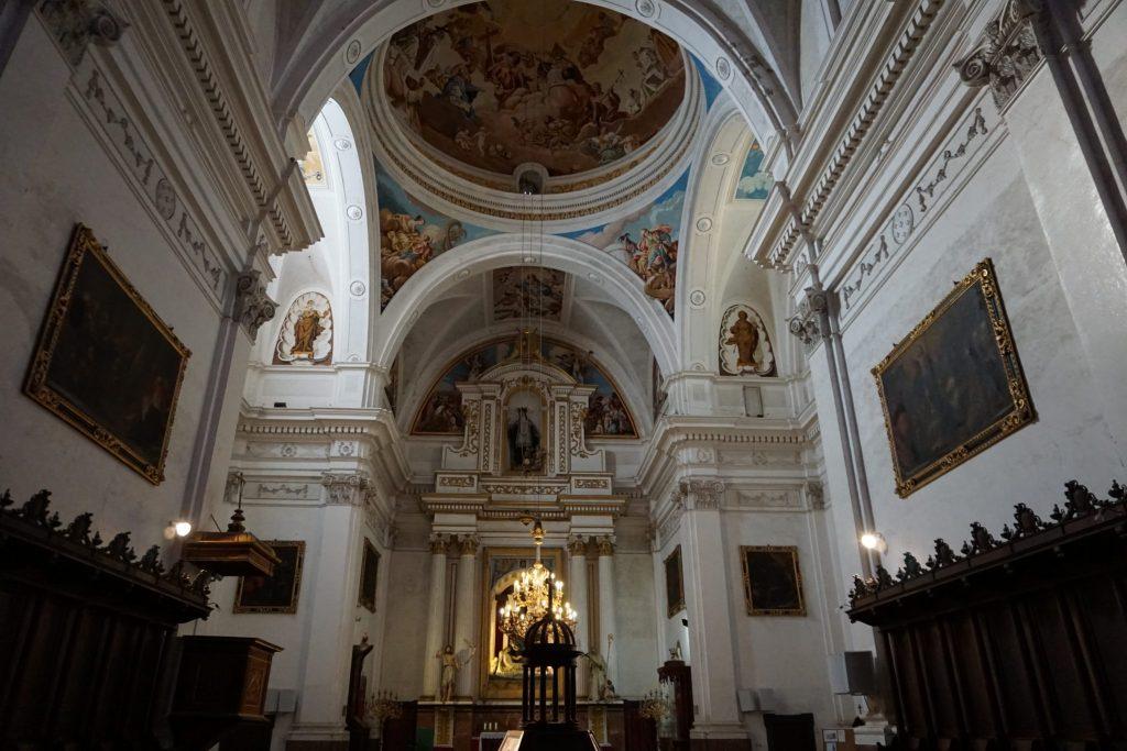 """Interior de la Cartuja o """"Cartoixa"""" de Valldemossa"""