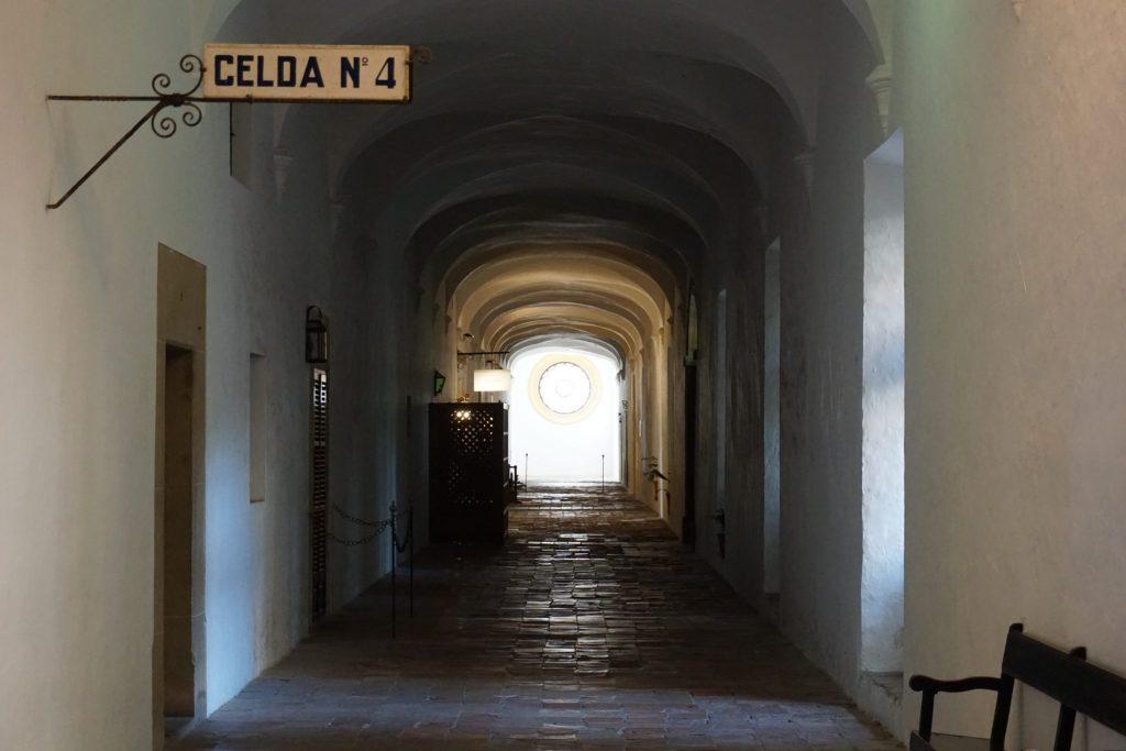 La celda nº4 alberga el museo de Chopin.