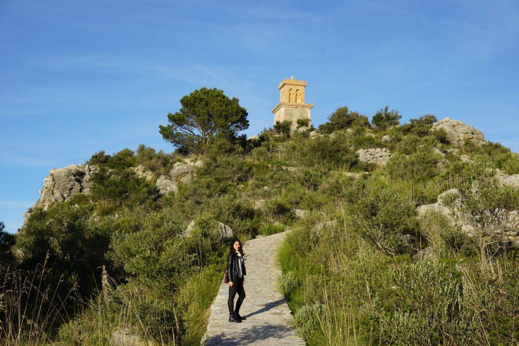 Subiendo al Puig de la Moneda