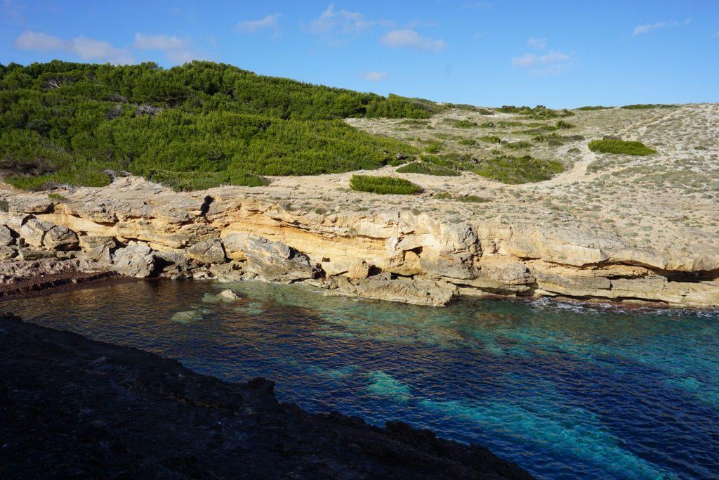 Cala Estreta Peninsula de Llevant