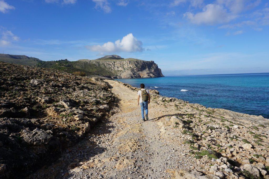 Camino a s'Arenalet des Verger