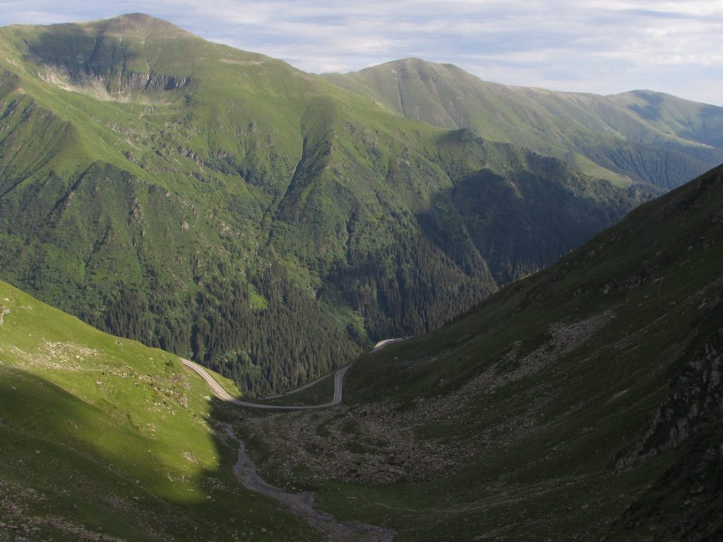 Los montes cárpatos y la Transfagarasan