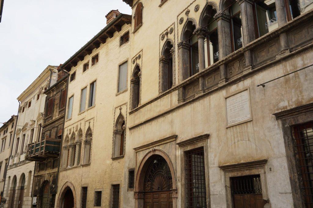 Calles y palacios de Vicenza