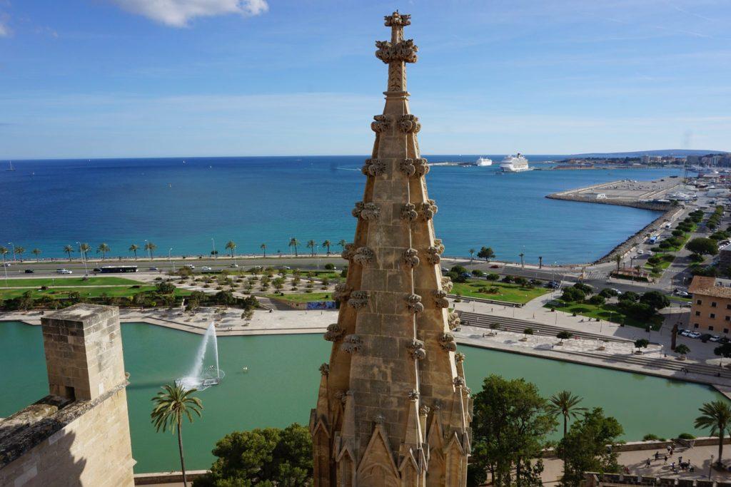 Visita a las terrazas de la La Seu, la catedral de Palma