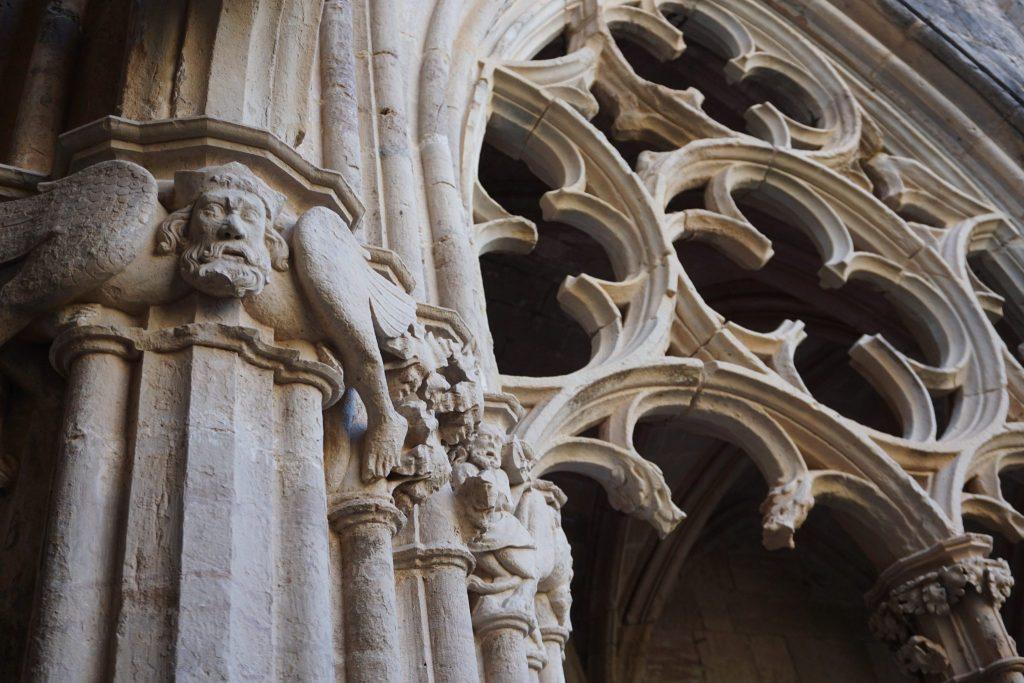 Detalle claustro Monasterio de Santes Creus