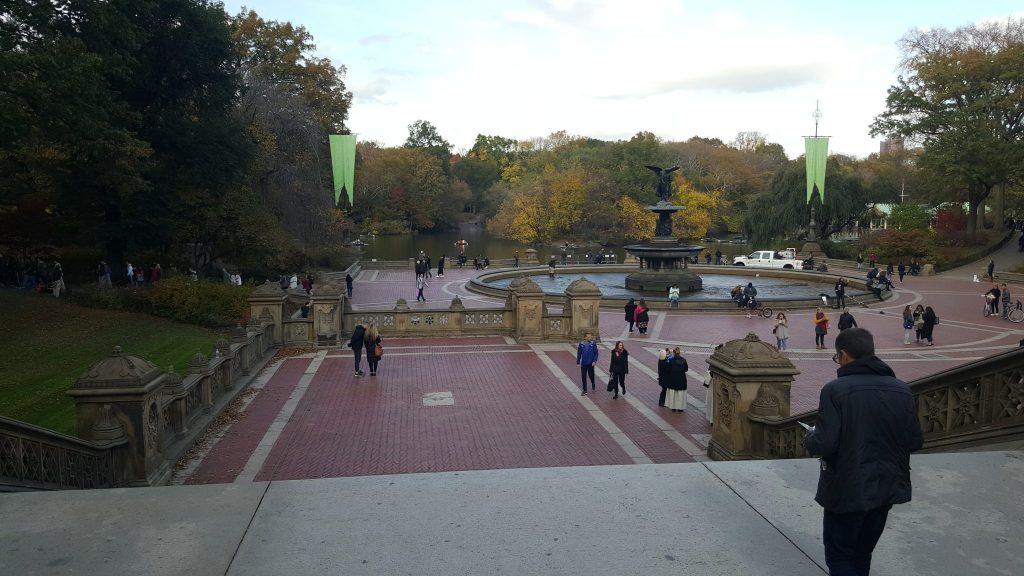 fuente central park